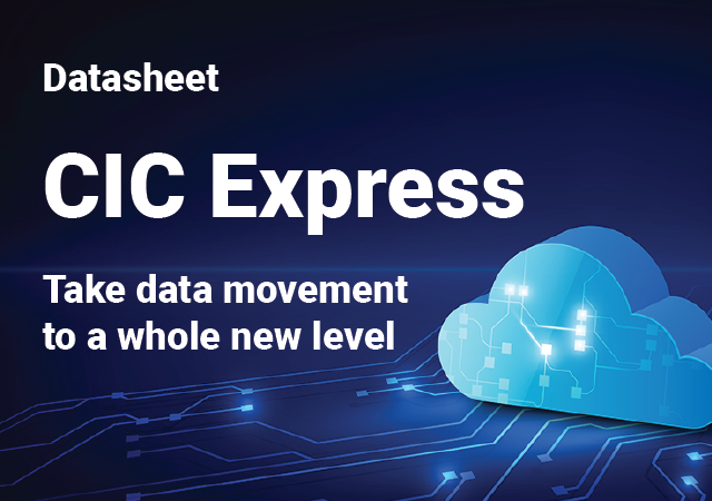 CIC Express Data Sheet