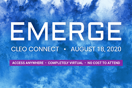 Emerge at Cleo Connect 2020