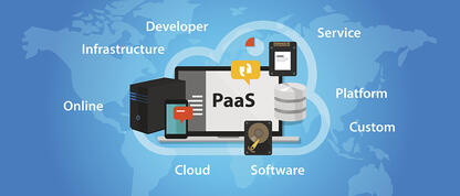 Platform as a Service (PaaS) is a form of cloud computing