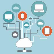 Software as a Service (SaaS) is a common cloud computing model for business applications within an enterprise